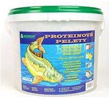 Proteínové pelety pre kaprov granule 6mm 5kg Jahoda