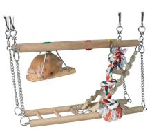 Hojdačka do klietky - dve poschodia + hračky 27x16x10cm TRIXIE