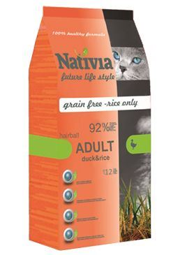 Nativite Cat Adult Duck & Rice Hairball