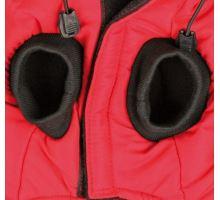 Červená vesta PALERMO s odopínacou kapucňou TRIXIE