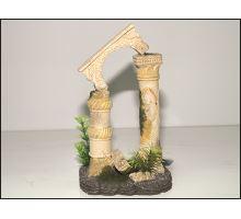Dekorácie akvarijné Antické stĺpy 12,5 x 10,5 x 20 cm 1ks