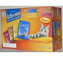 Athena Cat vrecko Gravy Multipack 12x100 g