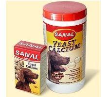 Sanal pes Calcium s vitamínmi 100tbl