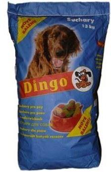 Dingo sucháre STANDARD prírodné 13 kg