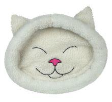 Pelech mijo mačacie hlava béžová 48 x 37 cm