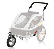 Predné koleso a držadlo k vozíku 24607, konverzie na behanie