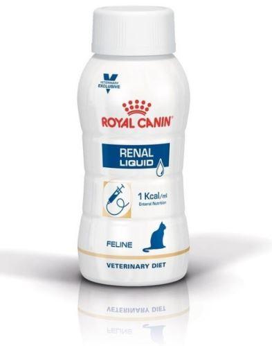 Royal Canin VD Feline Renal Liquid 3×0,2 l