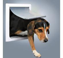 Priechodná dvierka pre psov SM dvojcestné 30 x 36 cm