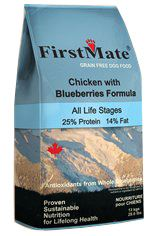 First Mate Chicken with Blueberries