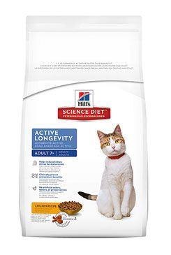 Hill 'Feline Dry Adult7 + Active Longevity Chicken 10kg