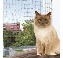Ochranná sieť pre mačky, tkaný drôt, olivová