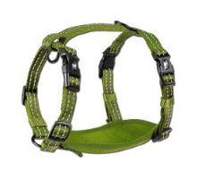Alcott reflexné postroj pre psov, zelený, veľkosť S