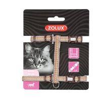 Postroj mačka TEMPO nylon