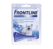 Frontline Spot-On Dog M sol 1x1, 34ml