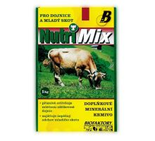 Nutri Mix pre dojnice a mladý hovädzí dobytok plv