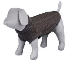 Pletený sveter LANGLEY hnedý