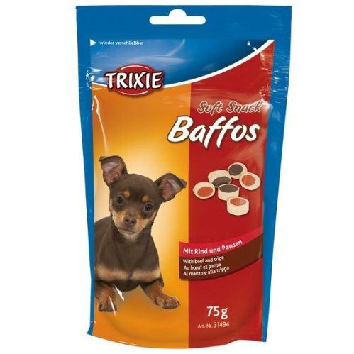 Soft Snack BAFFOS - mini kolieska hovädzie, držky 75g