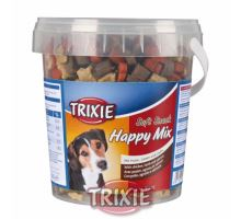 Soft Snack Happy MIX - kura, jahňacie, losos, kýblik 500g