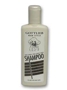 Gottlieb šampón s makadamovým olejom biely pudel 300ml