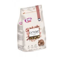 EXTRIMO kompletné krmivo pre škrečky v sáčku so zipsom 750 g
