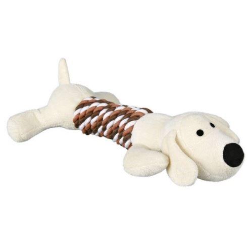 Plyšové aportovacie zvieratká pes/hroch 32 cm