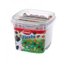 SANAL FIESTA MIX  - křupavé polštářky s drůbežím 75 g