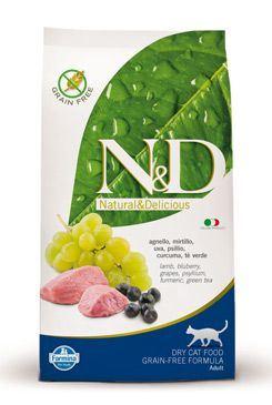 N & D Grain Free CAT Adult Lamb & Blueberry