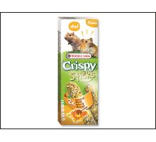 Tyčinky Versele-LAGA Crispy s medom pre škrečky a pieskomily 110g