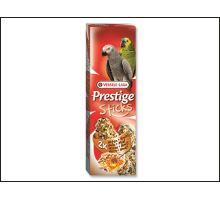 Tyčinky Prestige orechy a med pre veľké papagáje 140g