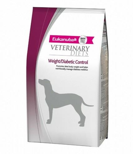 Eukanuba VD Dog Glucose / Weight / Diabetic Control