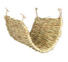 Hojdačka / podložka z trávy pre osmáky a krysy 40 x 28 cm