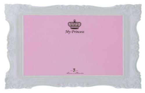 Prestieranie MY PRINCESS - gumová podložka ružová 44x28cm