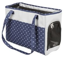 Cestovná taška Bonny 20 x 29 x 40 cm, modro / šedá do 5 kg