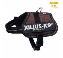 Julius-K9 silový postroj kávová hnedá