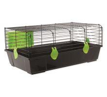Klietka SMALL ANIMAL Matěj čierna so zelenou výbavou 1ks