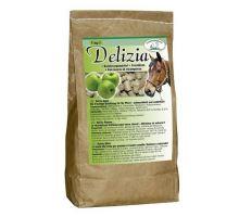 Pochúťka pre kone Delizia jablko 1kg