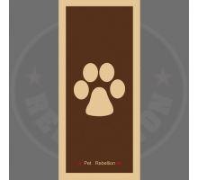 PET REBELLION- Běhoun, hňedý, 45 x 100cm