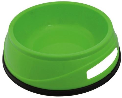 Plastová HEAVY miska s gumovým okrajom 0,5 l / 14 cm