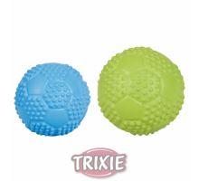 Športová lopta z tvrdej gumy so zvukom 5,5 cm