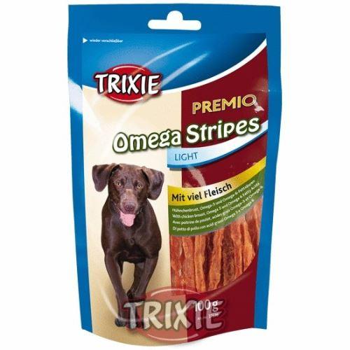 Premio OMEGA STRIPES Light - kuracie mäso 100g