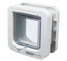 SureFlap DUAL SCAN 4-cestná dvierka na mikročip 21x21 cm - biele