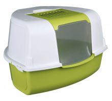 WC TADEO kryté rohové s filtrem a dvířky 58x38x50/50cm zel/b