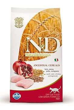 N & D Low Grain CAT Adult Chicken & Pomegranate