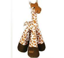 Hračka pre psov Žirafa pískacie plyšová 33cm