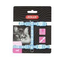 Postroj mačka ETHNIC nylon