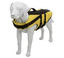 Life Vest plávacie vesta pre psa žlto / čierna