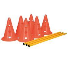 Dog Activity prekážky (3 ks) 23 x 30 cm / 78 cm oranž / žltá