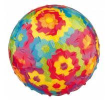 Hádzacie rôznofarebný loptu so zvukom, termoplast.guma TPR 8 cm