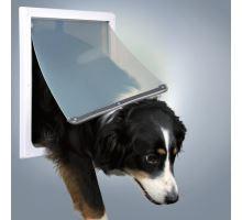 Priechodná dvierka pre psov M-XL dvojcestné 39 x 45 cm