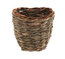 Hniezdo SMALL ANIMAL Košík trávne pletené 15 x 10 x 15 cm 1ks